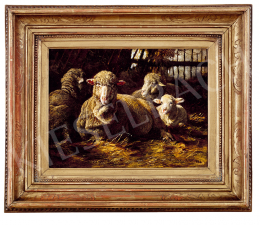 Pállik, Béla - Lambs (1883)