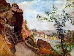 Herman, Lipót - View of Budapest from the Gellért hill