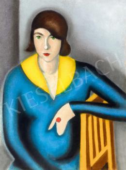 Duray Tibor - Piros gyűrűs nő