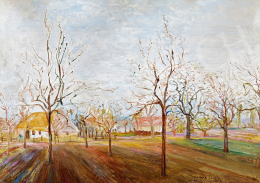 Kernstok, Károly - Early spring in the garden