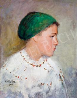 Glatz, Oszkár - Blue-eyed girl