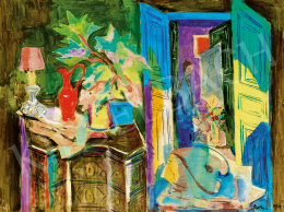 Bartha László - Műtermi csendélet (Hommage á Matisse)