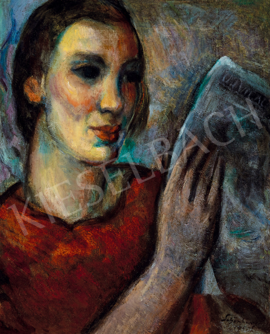 Schönberger, Armand - Reading girl | The 50th auction of the Kieselbach Gallery. auction / 118 Item
