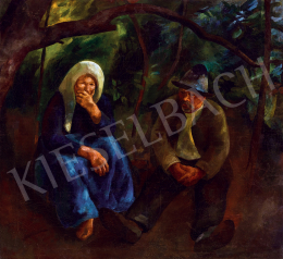 Szőnyi, István - Under the chestnut tree