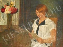 Pogány Lajos - Olvasó lány (1928)