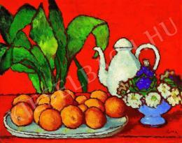 Rippl-Rónai József - Csendélet narancsokkal (1910 körül)