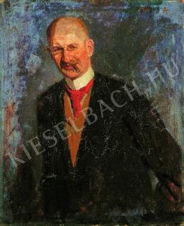 Fényes Adolf - Kohner Adolf portréja (1900)