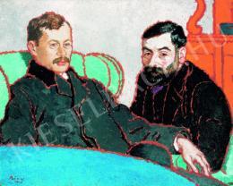 Rippl-Rónai József - Petrovics Elek és Meller Simon (1910)