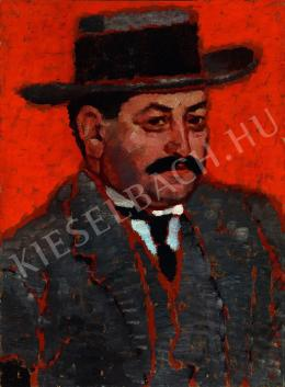 Rippl-Rónai József - Nemes Marcell arcképe (1912)