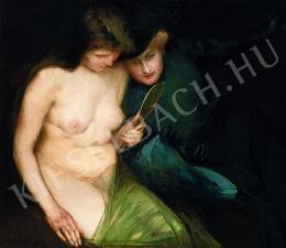 Vaszary János - Nők tükörrel (1901)