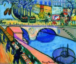 Tihanyi Lajos - Pont Saint-Michel (1908)