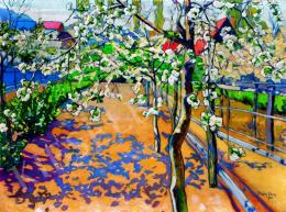 Plány Ervin - Virágos kert (1910)