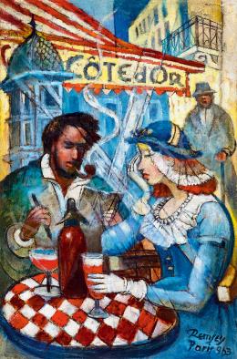 Remsey Jenő György - Párizsi kávéház (Randevú)