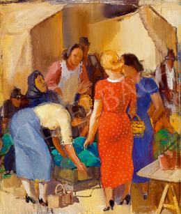 Chiovini, Ferenc - On the Market (1937)