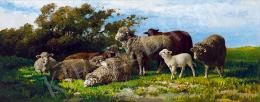 Pállik Béla - Mezőn (A fehér bárány)