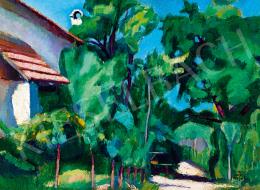 Berény, Róbert - Garden in Sunshine (1906)