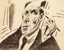 Kádár, Béla - Self-Portrait (beginning of the 1920s)