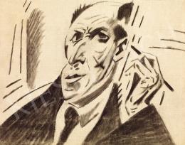 Kádár Béla - Önarckép (1920-as évek eleje)
