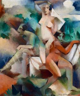Jičinská, Vera - Three Nudes in the Nature (1925)