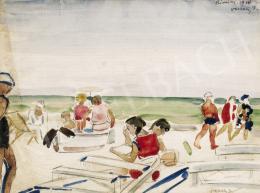 Vaszary János - Rimini strand