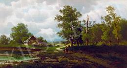 Chwala, Fritz - Házikó az erdőszélen