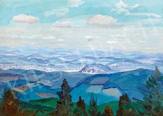 Molnár C., Pál - View to the Hills | 51st Winter Sale auction / 40 Item