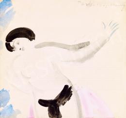 Vaszary, János - Dancer (1927)