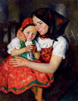 Glatz, Oszkár - Siblings (The Red Apple)