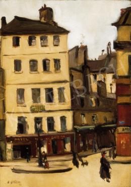 Bertalan Albert - Őszi párizsi utca