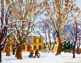 Boromisza Tibor - Nagybányán hull a hó