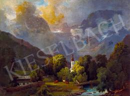 Molnár, József - Romantic Landscape