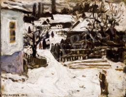 Perlmutter, Izsák - Snow-Covered Street