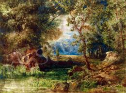 Telepy Károly - Erdőrészlet