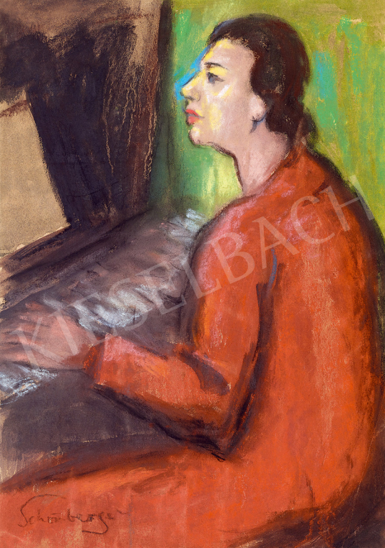 Schönberger, Armand - At the Piano | 51st Winter Sale auction / 124 Item