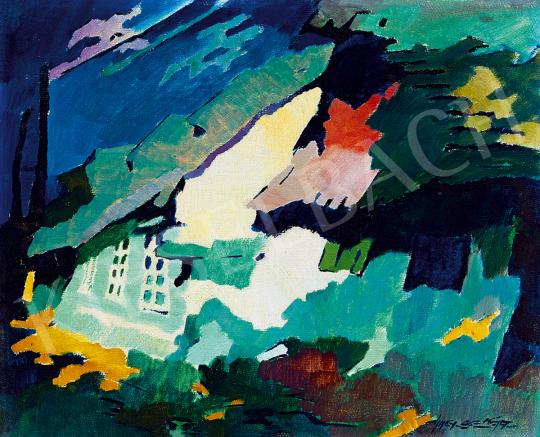 Nagy, Oszkár - Sunny Nagybánya Street | 51st Winter Sale auction / 129 Lot