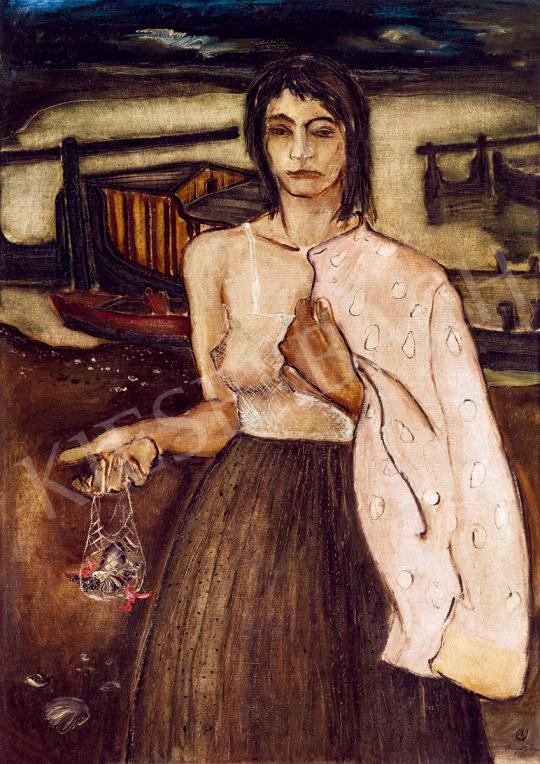 Ámos, Imre - Fisherwoman | 51st Winter Sale auction / 163 Item