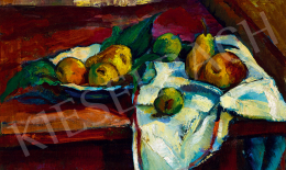 Barcsay, Jenő - Still-Life with Apples and Pears