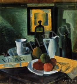 Kmetty, János - Blue Still-Life