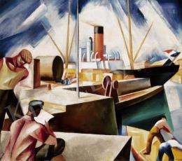Gábor Jenő - Kikötő (Le Havre-i kikötő) (1927)