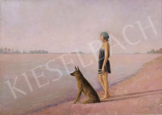 Eladó Czölder Dezső - Nyár a Duna-parton festménye