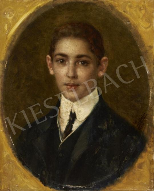 For sale Unknown painter - Portarit of a Young Boy 's painting