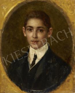 Ismeretlen festő - Fiatal fiú portréja