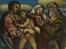 Unknown painter - Holy Family (c. 1925)