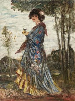 Dudits Andor - Spanyol nő
