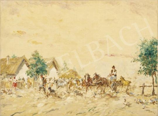 For sale Csillag, József - Dusty Street 's painting