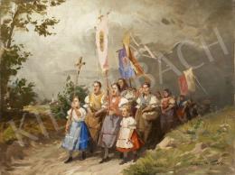 Gyertyáni Németh, Gyula - Procession