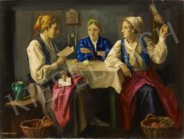Krusnyák Károly - Asztalnál