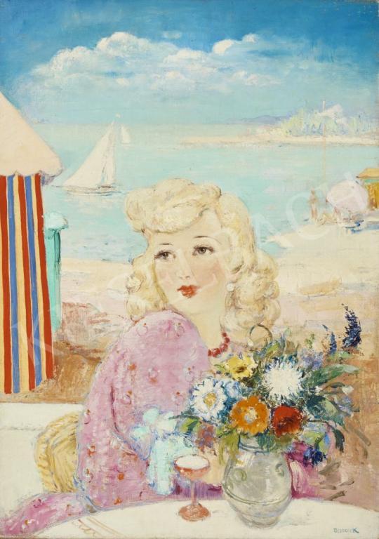 Eladó Jancsek Antal - Balaton-parton festménye