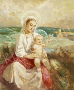 Péczely Antal - Madonna gyermekkel