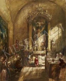 Péczely Antal - Fények a templomban